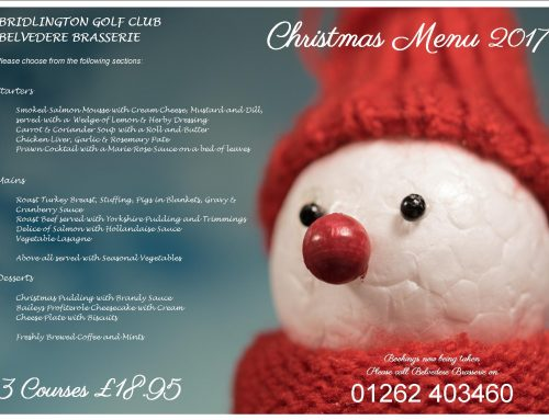 Book your Christmas Party with us……….
