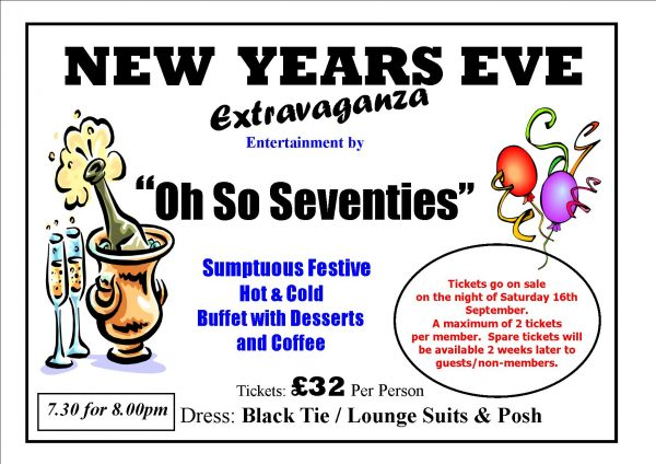 New Years Eve Functions