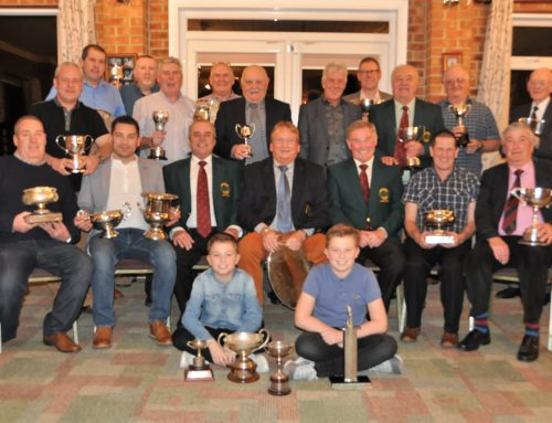 Gents Annual Prize Presentation