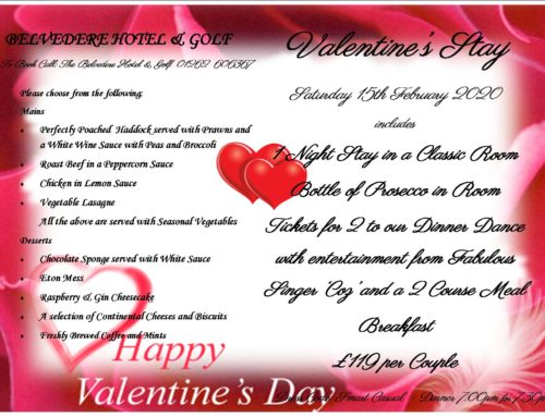 Valentine's Night Stay and Dinner Dance 2020